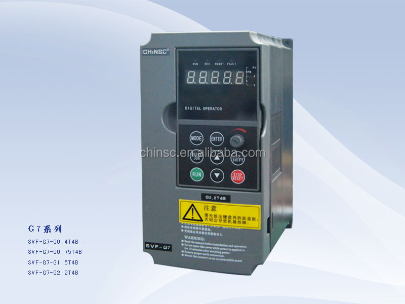 CE Approved 0.4KW variable frequency Inverter / VFD AC Drive / Power Inverter