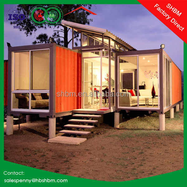 40ft 20ft duplex prebuilt flat pack container house new modern luxury prefabricated villa office prefab container house