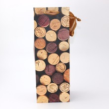 Wholesale China Trade Cheap Wine Gift Paper Bag