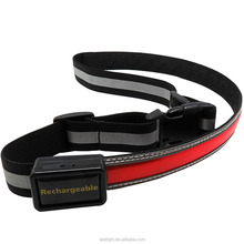 Trendy Outdoor Sports LED Waist Belt For Night Runing