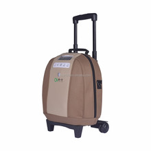 Homecare Battery operated portable oxygen concentrator with humidifier