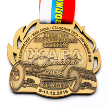 Cheap Personality Custom Made Gold 3D Embossed Design Die Casting Made Soft Enamel Zinc Alloy Engraved Logo Sport Medal