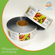 Aluminum lamination bag foil auto packaging plastic film roll