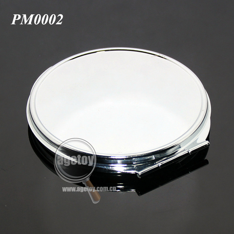 Plegable En Blanco Acero Inoxidable Metal Peque O Espejo