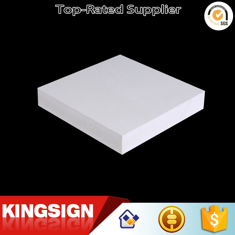 Kingsign supply good quality high density 20mm pvc rigid foam board