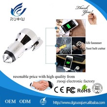 dual usb QC2.0 factory fast direct wholesale quick car mobile phone charger