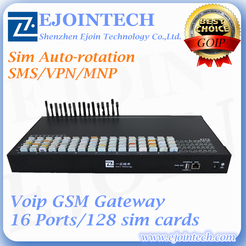 ejoin 16 port product wcdma New goip gateway for android wifi voip phone