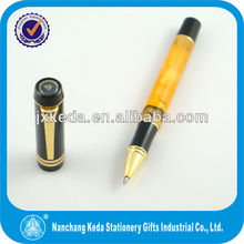 New design acrylic transparent roller pen with low price,cheap pen