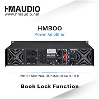 800W professional extreme power amplifier HM800