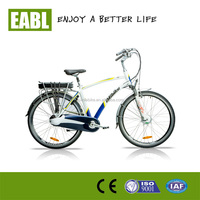 2015 city road electric bicycle with disk brakes for men