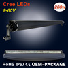 288W 50inch double row 12 voltage led light bar for offroad 4*4