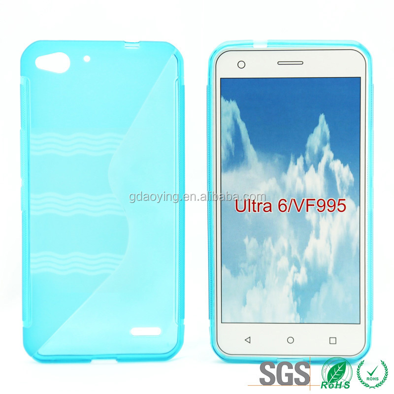 Protective Waterproof Soft Cell Phone Case S Line TPU for Vodafone Ultra 6 VF995