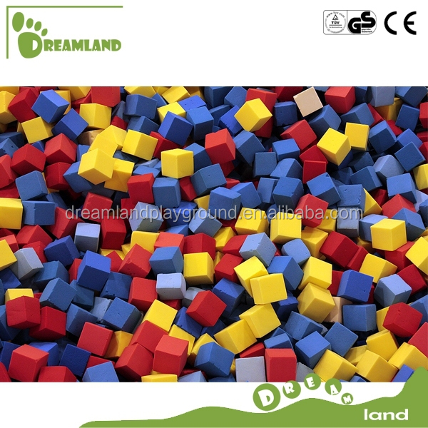 Trampoline park polyurethane indoor foam pit blocks