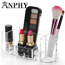 ANPHY C174 Custom Makeup Brush Organizer Clear Acrylic Cosmetic Display
