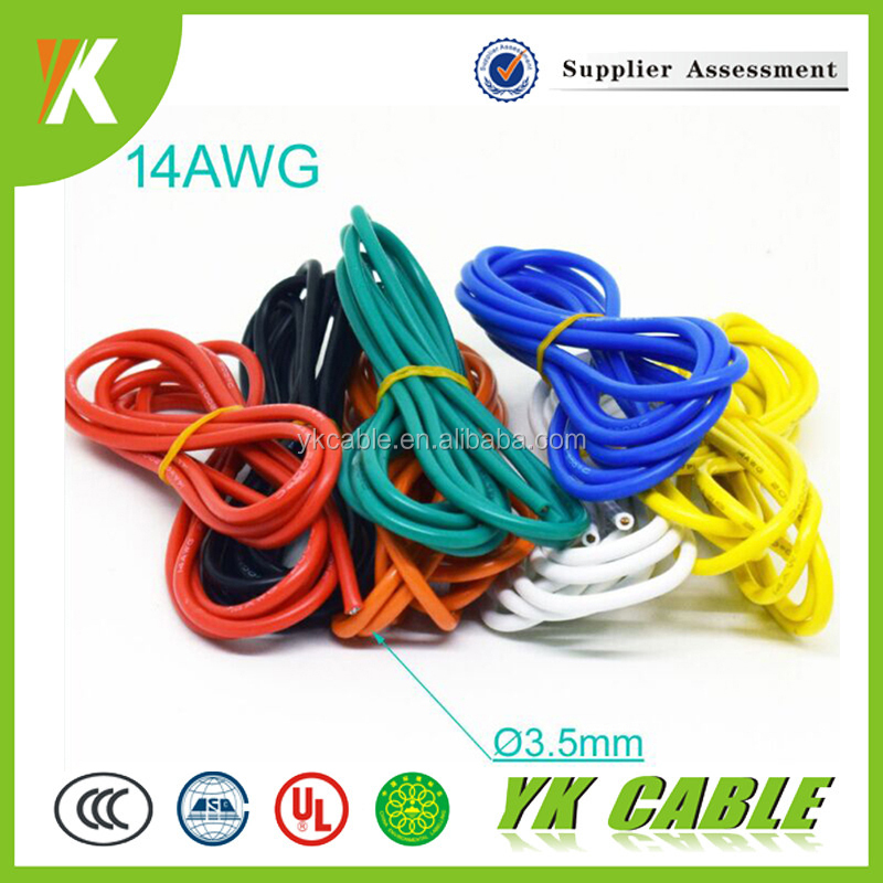 Heat resistant electrical wholesale best selling 14 AWG wire