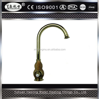 Chrome Polished Brass Faucet Kitchen / Bathroom Basin Sink Mixer Tap Faucet