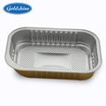 Sample containers for food household aluminum foil container takeaway