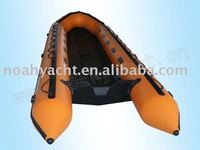 PVC,0.9-1.2mm PVC made in South Korea Hull Material and CE Certification aluminium floor inflatable boat RXK520