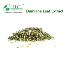 NSF-GMP Supplier Provide Health Products Damiana Leaf Extract Powder