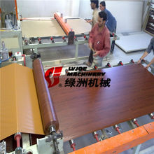 construction buildings pvc ceiling tiles gypsum board laminating machine