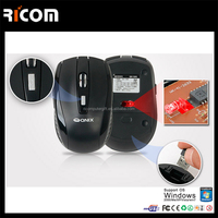 New arrival colorful wireless 2.4g driver USB chip optical scroll wheel usb mini mouse
