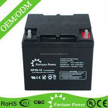 Largestar 12v 38ah mf deep cycle storage solar battery