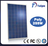 High quality 255w customized designed solar panel
