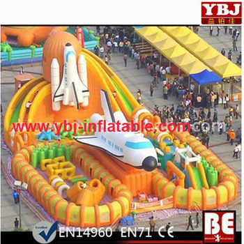 commercial popular inflatable bouncer/inflatable playground