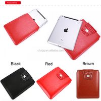 Fashion Universal 10 inch Clutch Tablet Sleeve Bags Soft PU Leather Case For Apple ipad