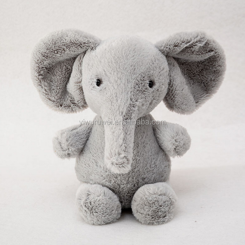 New plush doll gray small elephant children plush toys car Decoration manufacturers wholesale