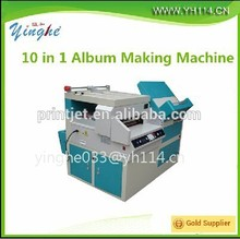 Hot!! photo album cover making machine