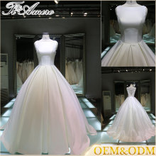 Guangzhou Romance Sweetheart Neck Wedding Dresses for Mature Women