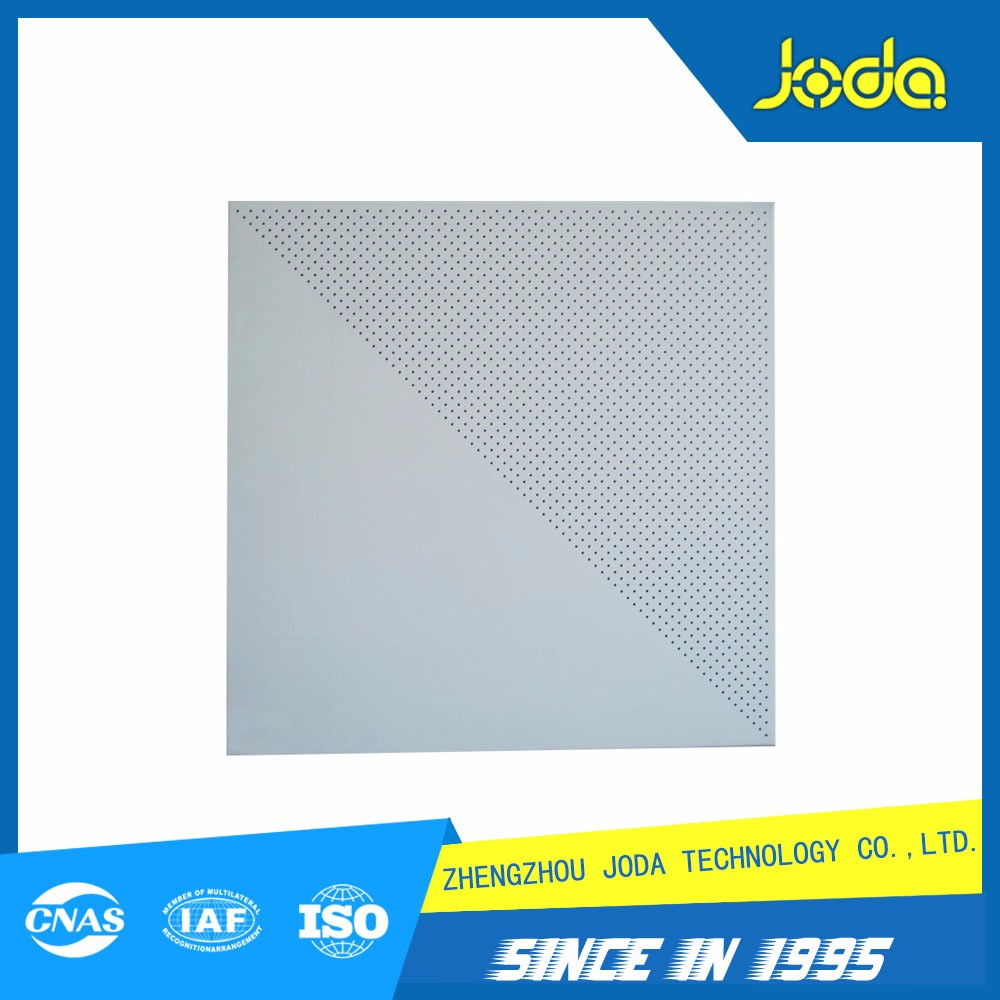 Ceiling tile thickness