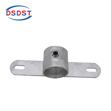 198 Double Fixing Bracket Ductile Fence Fittings Pipe Clamp Fittings Scaffold Safety System