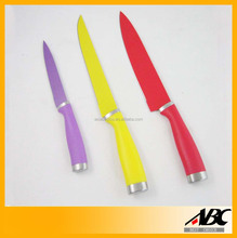 Hot-selling Coated Painting Stainless Steel Kitchen Knife