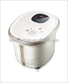 Professional hand held infrared heat vibrating massager for wholesales sweat steam basin MM-8801