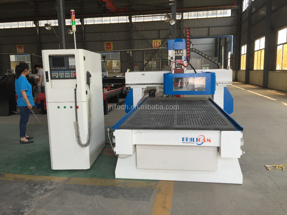 Most popular cnc router machine with 10 tools auto tool change ITM1325AD