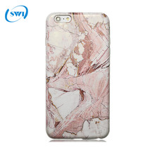 Marble Desgin Slim Flexible Soft Silicone Bumper Shockproof Gel TPU Rubber Cover Case for iPhone 7 plus