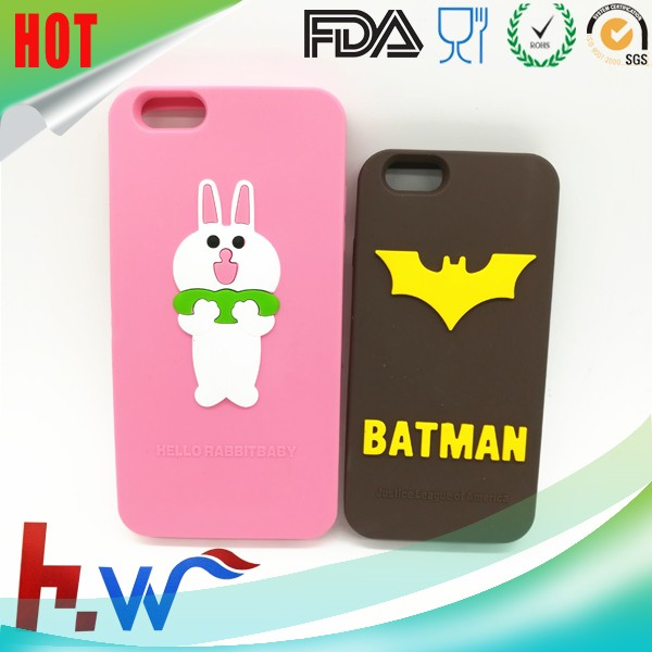 Silicone Mobile Phone Case For Iphone 5 6 6plus Cover Cases