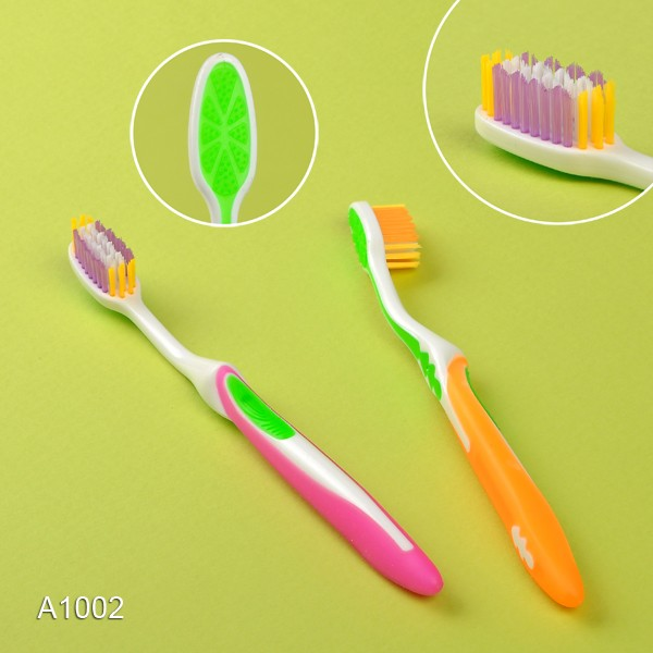 100% Attractive Silver Yangzhou Tooth Brush with Private Label A1002