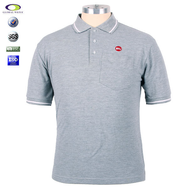 Customized chest pocket pique polo shirts buy pique polo for Polo t shirts with pocket online