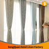 China Supplier Hotel Room Curtain/poly/cotton/linen