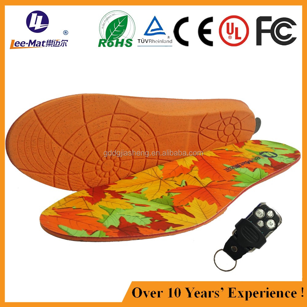 Customized Rechargeable Battery Ski Boots Heated Insole