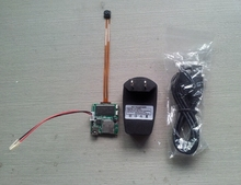 3GP PCB Hidden Mini Camera, Micro Mini USB Camera Module For Long Time Recording With Motion Detection IR Night Vision