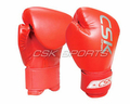 Synthetic leather printed boxing gloves for children
