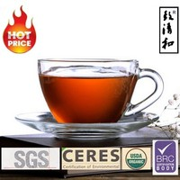 Organic certified healthy loose leaf black tea direct manufacturer and owner organic tea farm