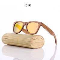 wooden sunglasses custom logo in good price and high quality
