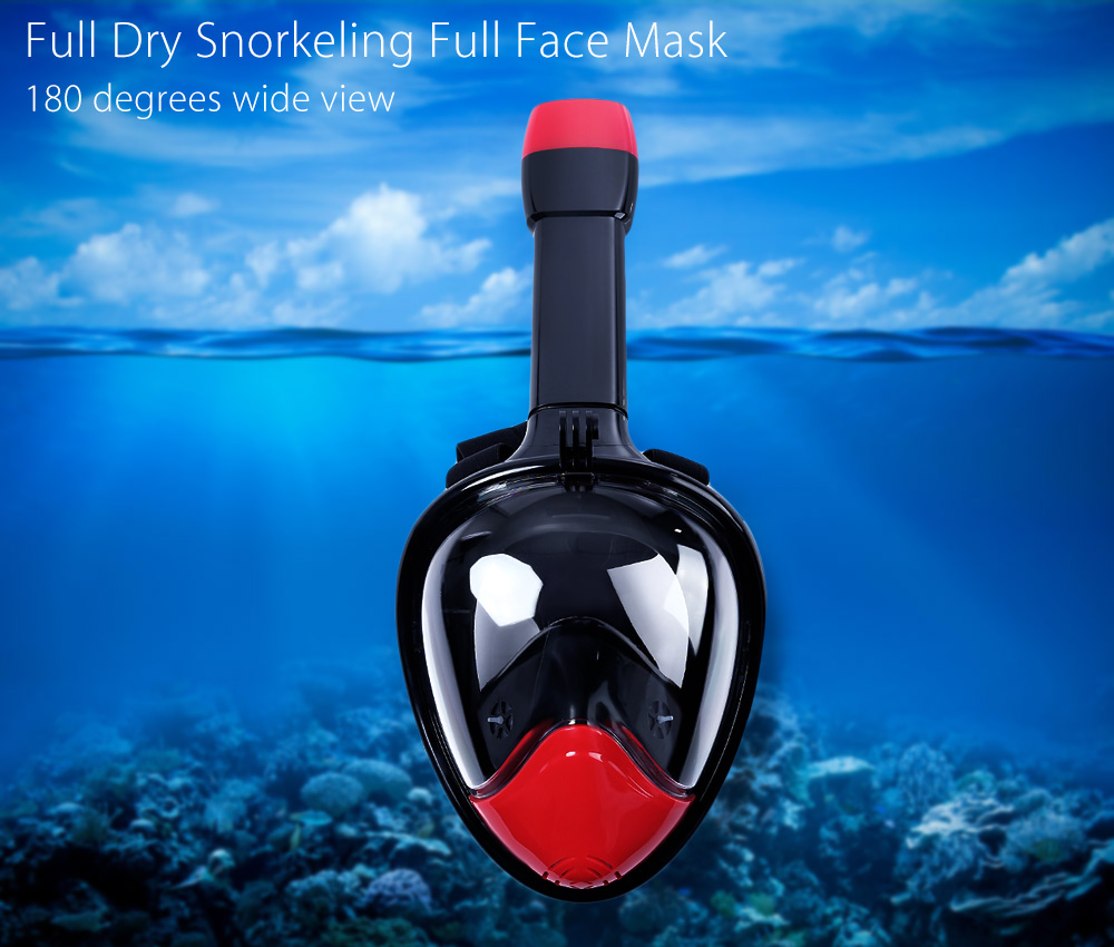 Easybreath Snorkeling diving mask Set Anti Fog for Gopro Camera