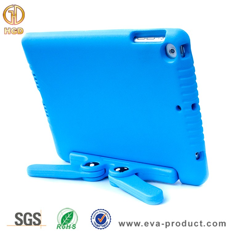Kids eva foam drop proof case for ipad air 5 case with kickstand