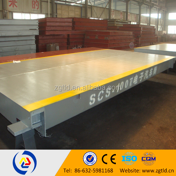 digital weighing truck scales 50 ton truck scale